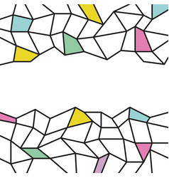 abstract background template trendy flat style vector image vector image