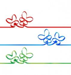 silk tape vector image
