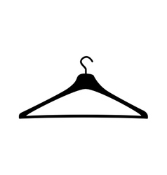 clothing hanger icon image vector image