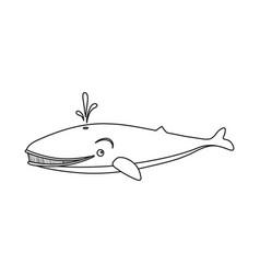 Design of sea and animal logo collection vector