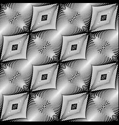 Design seamless monochrome pattern abstract vector