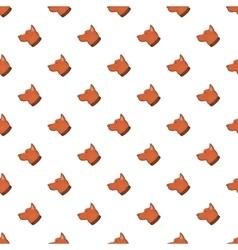 Dog pattern cartoon style vector
