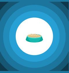 Isolated nutrient flat icon feeding vector