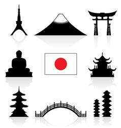 Japan Icon vector