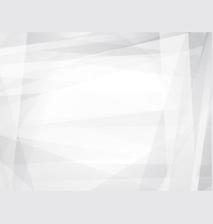 light grey geometric abstract background vector image