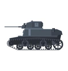 Tank american world war 2 m3 stuart light tank vector
