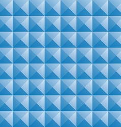 triangle blue jewel texture seamless background vector image