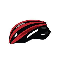 Bicycle helmet vector