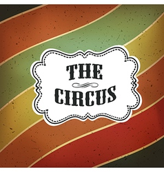 Circus lines retro background vector