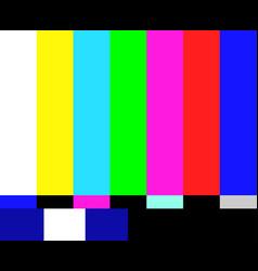 no signal poster vector image