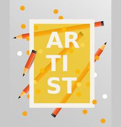 art design elements vector image