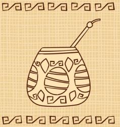 calabash vector image