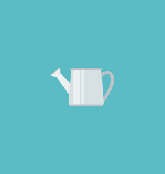 flat icon watering can element vector image