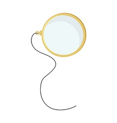 Monocle with string vector image vector image