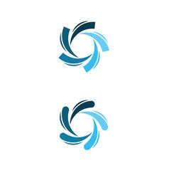 vortex icon design vector image