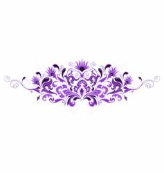 design floral elements vector image vector image