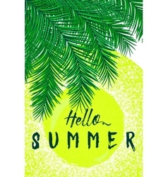 Retro of summertime vector image