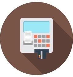 ATM card vector
