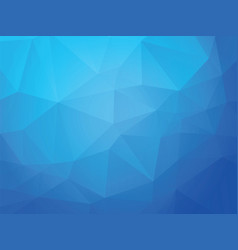 blue ice geometric background vector image