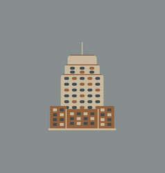 Building skyscraper high-rise buildings vector