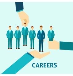Career Flat Icon vector