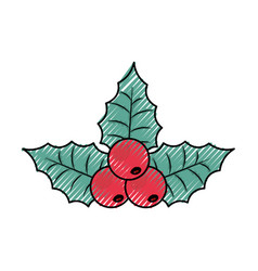 christmas pick vector image