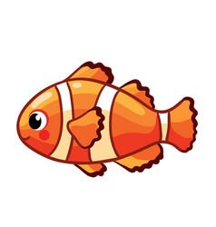 colorful sea fish vector image