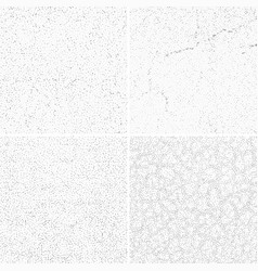 Grey subtle dotted grunge textures vector