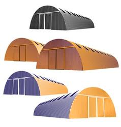 hangar vector image
