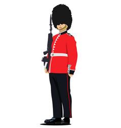london guard vector image