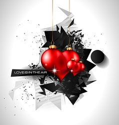 Lovely valentines day themed background to use vector