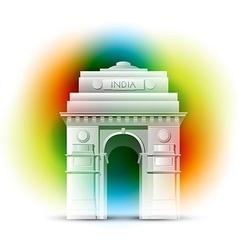 patriotic indian background vector image