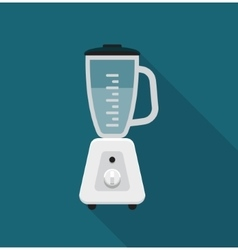 Stationary blender flat vector image