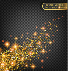 festive of falling shiny vector image vector image