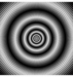 Abstract circular backdrop vector image