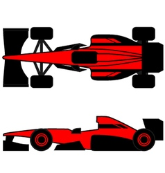 Champion car vector image