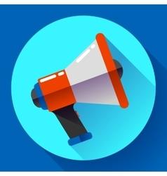 Megaphone Icon Viral marketing Flat vector image vector image