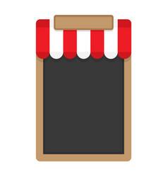 blank frame for menu vector image