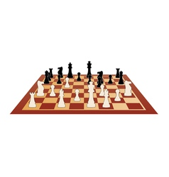 chess game vector image vector image