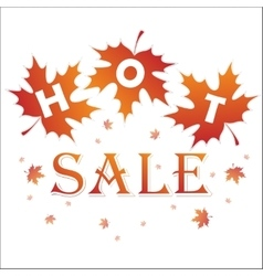 Hot sale background vector image