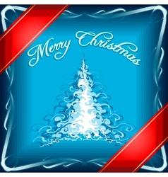 Chrismas gift vector image vector image