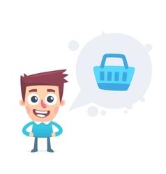 Customer information vector image vector image