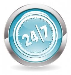 247 button vector