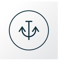 armature icon line symbol premium quality vector image