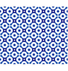 Blue and white chinese pattern vector