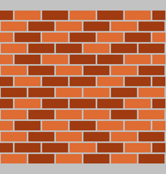 brown seamless brick wall vector image