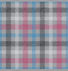 dotted tartan seamless pattern abstract vector image