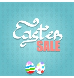 Easter Sale Background vector image