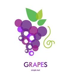 GrapesIc vector image