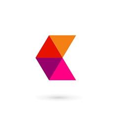 Letter C mosaic logo icon design template elements vector